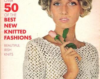Vintage Spring Summer 1968 Vogue Knitting Pattern Book