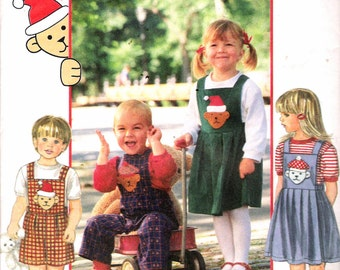 """1994 Simplicity 9306 Toddlers Separates Sewing Pattern Size AA 1/2, 1, 2 Breast 19"""", 20"""", 21"""" UNCUT"""