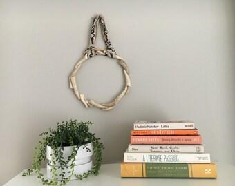 Real Dear Antler Wreath / Christmas Wreath / Home Decor / Christmas Decor / Antler Decor