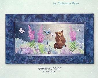 """McKenna Ryan Pattern """"Flutterby Field"""" (Block 2) of Aurora Ridge Quilt DIY"""
