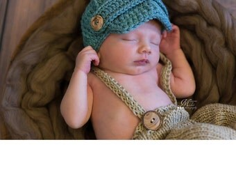 Baby Boy Hat, Baby Hat, Newborn Hat, Crochet Hat, Infant Gray Newsboy Hat, Newborn Boy Clothes Clothing Photo Prop Baseball Cap Hat, Baby
