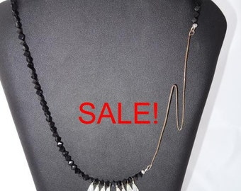 SALE! Thunderstorm necklace