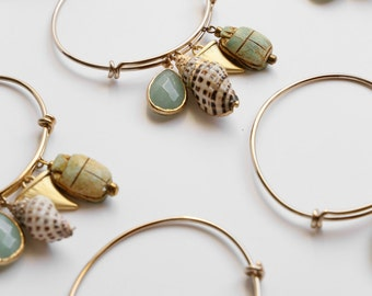 Beach bangle - Mint