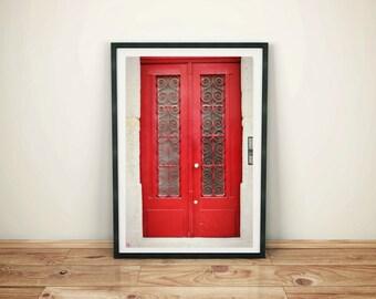 Red Door in Porto, Digital Download