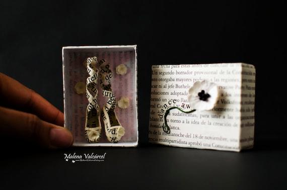 Matchbox Art - Diorama - DANCE AWAY