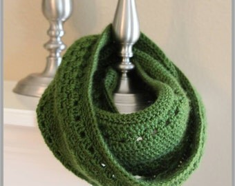 Simply Snug Infinity Scarf Crochet Pattern ... Instant Download
