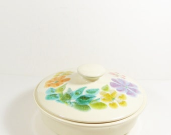 Franciscan Earthenware Floral USA- Amazing 3 Qt Covered Casserole - Vintage Franciscan - 1970s Franciscan