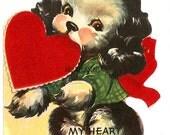 Very LARGE Vintage Valentine Card Download Art Graphic Image printable valentine