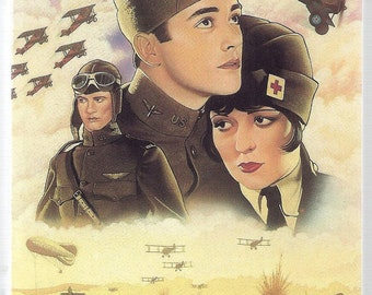 WINGS VHS Tape, 1927, World War I Movie, Silent Movie