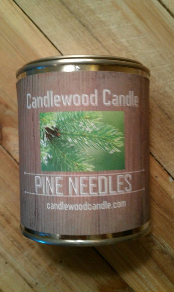 PINE NEEDLES -  PERSONALIZED Gift, Gift for Man, Gift for Woman, Custom Gift, Send your message, Free Shipping in United States 16 oz