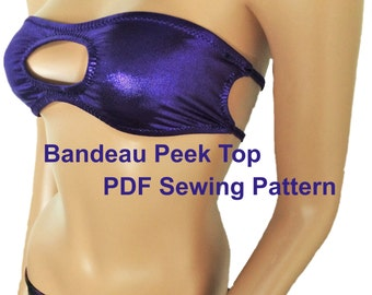 Bandeau Peek Top (6 Sizes)