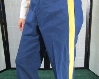 Striped Uniform Pants, Steampunk/ Sci Fi
