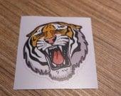 Tiger Sticker, 100% Waterproof Vinyl Sticker, Pop Culture Sticker, 3M Sticker