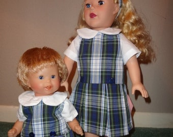 Doll School Uniform for any 12 inch doll, perfect for you little school girl