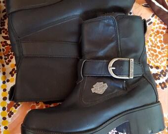 Harley Davidson Biker Babe Boots