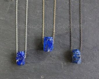 Lapis Lazuli Necklace // Lapis Lazuli  // Lapis Lazuli  Pendant // Blue Lapis // Lapis Necklace // Lapis Jewelry