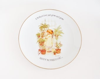 Holly Hobbie Mother's Day Collectible Plate
