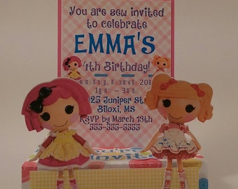 Birthday Invitation LalaLoopsy