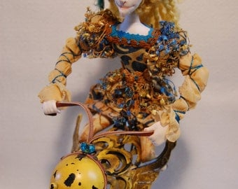 Arianna's Wild Ride - OOAK Art Doll