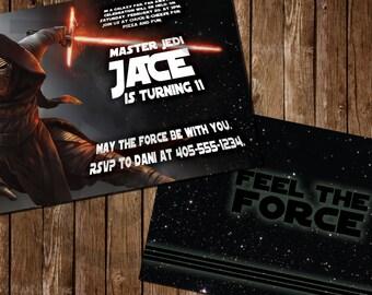 Star Wars Kylo Ren Birthday Invitations Prints / Printables