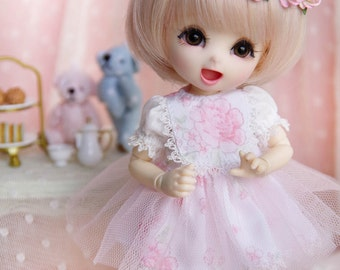 Lati Yellow/ Pukifee - Summer Petals Dress - Peony Flower