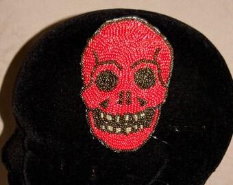 Skull I (Hybrid Brooch/Hair Clip)