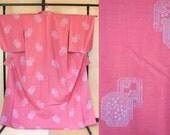Pastel pink Japanese wool...