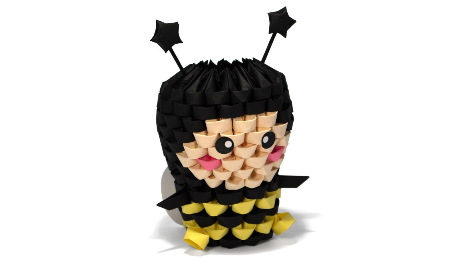 3D Origami Bee by Girnelis on Etsy - photo#46