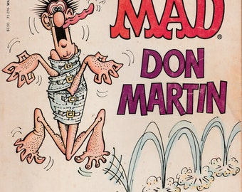 Vintage The Completely MAD Don Martin Best Cartoons 1974