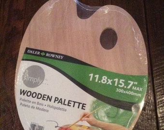 Daler Rowney Simply Wooden Palette 11.8 X 15.7. New In Plastic Wrap.