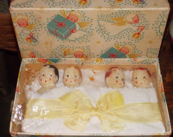 RARE!! 1930's miniature doll soap bars