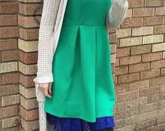 Poppy Lace Royal Blue Snap on Extender for Outskirts Slip