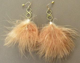 Fuzzy Earrings