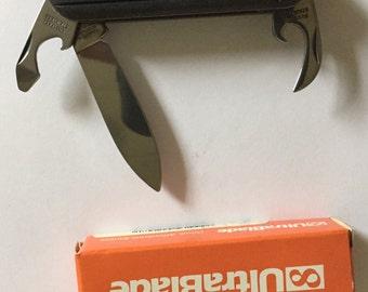 Ultrablade knife with screwdriver & bottle opener  solingen steel