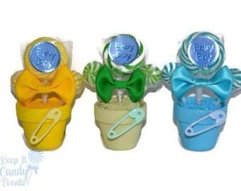 Lollipop Baby Boy Shower Favor, Edible Favor for Baby Shower, Its a Boy,  Baby Shower, Baby Boy Favor, Baby Shower Idea, Baby Boy Favors