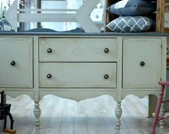 Credenza style farm house / rustic chic - creating design dawn - Chalk paint
