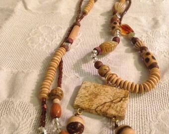 Handmade Asymmetrical Necklace