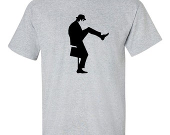 John Cleese Ministry of silly walks T Shirt Monty Python's Flying Circus