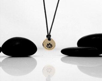 Lotus Flower, Yoga Jewelry, Lotus Jewelry, Lotus Necklace, Yoga Necklace, Lotus Charm, Lotus Flower Charm, Yoga Gift, Lotus, Zen Jewelry