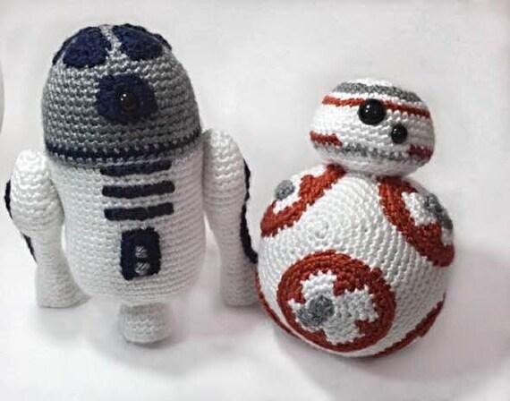 Free Star Wars Bb 8 Crochet Pattern : Star Wars BB8 and R2D2 Crochet PATTERNS
