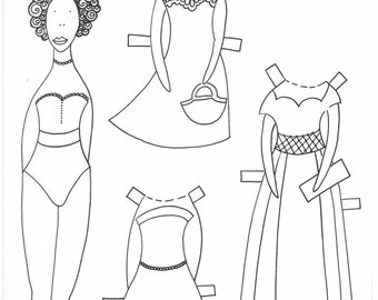 Paper doll Cut-out doll