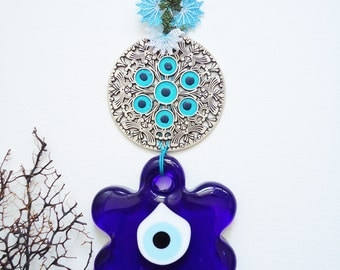 Home decor wall hanging Turkish Evil Eye wall hanging negative energy cather