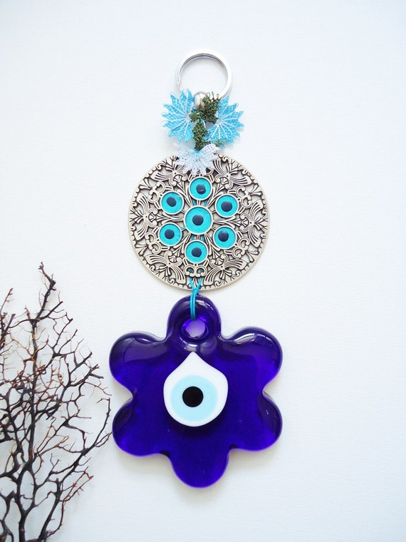 Evil Eye Decoration Wall Hanging : Items similar to home decor wall hanging turkish evil eye
