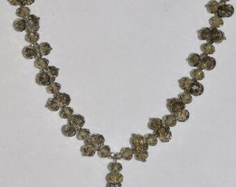 Necklace Smoky Crystal  #475
