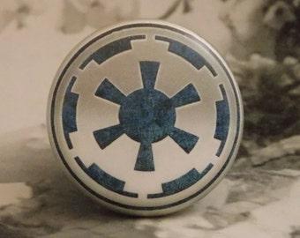 "1-1/2"" Star Wars Dresser Knobs Series II #24 - Galactic Empire Knobs"