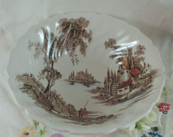 SALE Johnson Brothers Old Mill Vegetable Bowl Round Serving