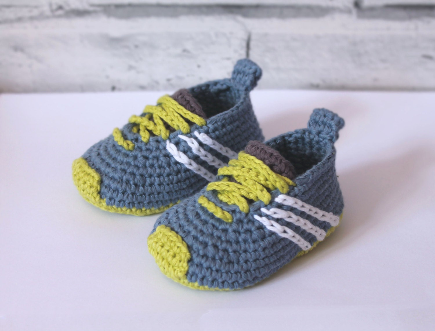 Crochet Baby Running Shoes Pattern ~ Dancox for .