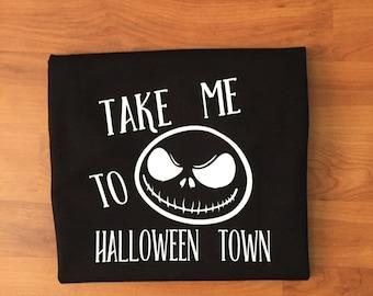 Nightmare Before Christmas Jack kids shirt