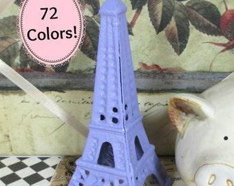 Eiffel Tower Shabby Chic Cast Iron in French Lilac