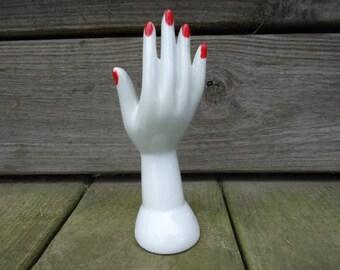 Hand Shaped Vase